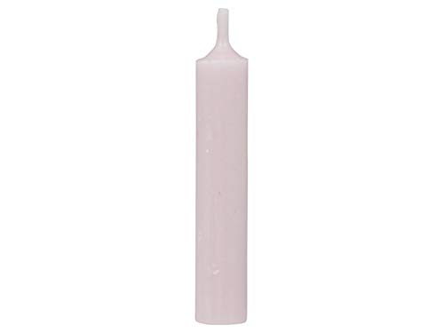 Mini Taper Candles Pack of 5 Light Pink Height 11 / Diameter 2 cm