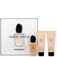 Giorgio Armani Si Eau De Parfum 50ml, Shower Gel 75ml und Body Lotion 75ml