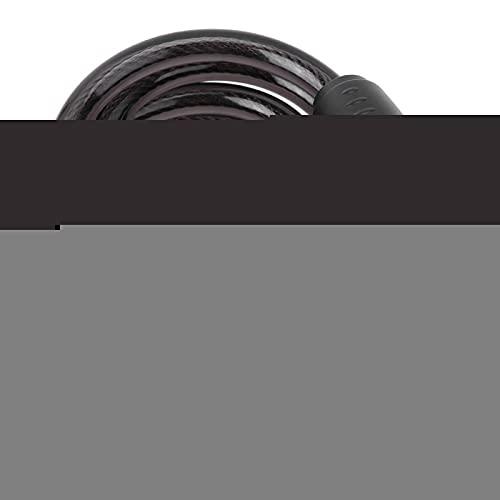Tomanbery Black Lock Candado de Cadena de Cable de Acero Portátil Candado de Seguridad Simple de operar Candado de Bicicleta Fácil instalación Conveniente para Bicicletas para Bicicletas Ciclismo