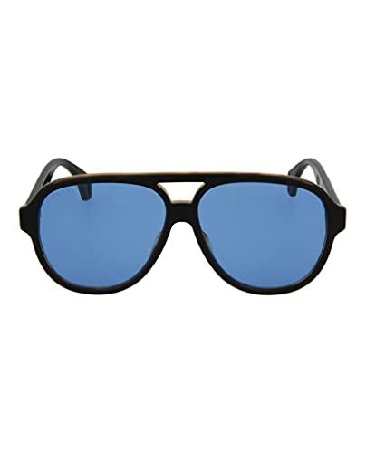 Occhiali da sole Gucci GG0463S BLACK/BLUE uomo