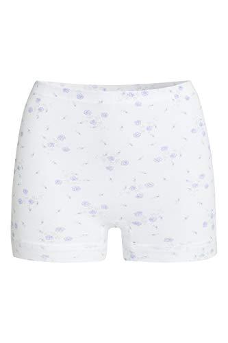 con-ta Pagenschlüpfer, Unterwäsche aus weicher Baumwolle, eng anliegende Pants für perfekte Bequemlichkeit, Damenbekleidung, in Druck, Größe: 48