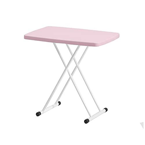 SH-tables Mesa Plegable, Mesa De Equipo De Elevación, Mesa De Camping Conveniente Al Aire Libre/Mesa De Estudio/Escritorio/Escritura, 4 Colores (Color : C)