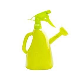 XKSIKjian Planta de jardín de Mano Regadera Pot Pot Press Tipo Rociador Limpiador de Botellas con rociador - Verde