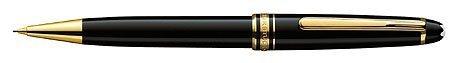 Mont Blanc 165-Meisterstuck Classique goud mechanisch potlood, zwart-0,7 (12737) door MONTBLANC