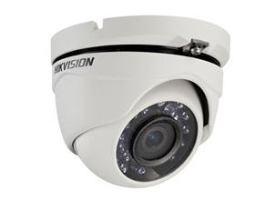 Hikvision DS 2ce56 C0t ds-2ce56d5t-irm Outdoor Cámara/Turbo HD720p IR Turret Camera HD TV analógica cámara de seguridad para exterior/DNR, IR Vigilancia/DNR, Smart IR Cam/Outdoor (High Power IR LED, visión nocturna de infrarrojos, resistente a la intemperie para exterior, detección de movimiento, grabación,) Color Blanco