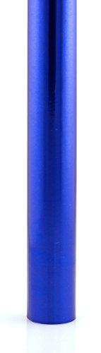 Hygloss Metallic Papier Geschenkpapier Rollen, blau, Nicht zutreffend
