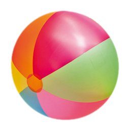 Happy People 77811 Jumbo Wasserball, Tranparent
