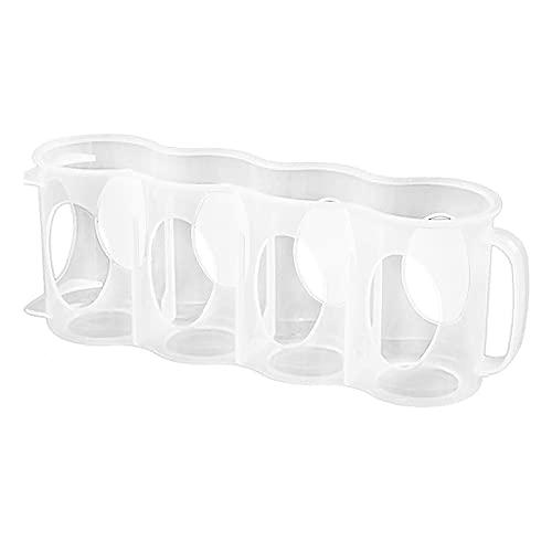 iSinofc Soporte para latas de Bebidas para Nevera, 2 Piezas Soporte para latas Soporte para frigorífico congelador encimeras de Cocina armarios