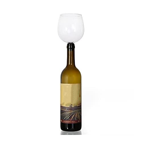 Agnus EPACKET Creativo Bebiendo Copa de Vino de Herramientas de Barra de vinos Tapón de Vino Turne la Botella de Vino en Gafas (Capacity : M7S, Color : M7S)