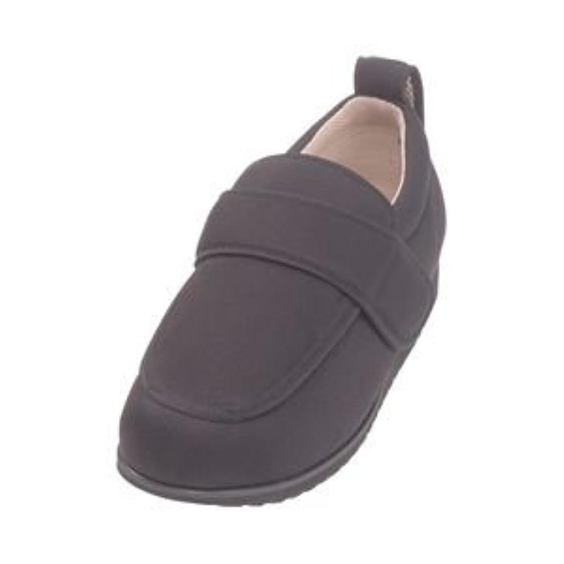 病な申し込むウォーターフロント介護靴 外出用 NEWケアフル 5E(ワイドサイズ) 7007 両足 徳武産業 あゆみシリーズ /3L (25.0~25.5cm) 黒