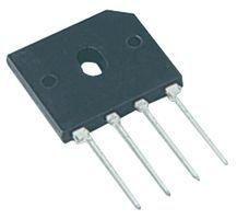 Tk9K –Ponte Raddrizzatore, 4A, 600V Ponte raddrizzatore Case Style: GBU diodo tipo di montaggio: Through Hole avanti corrente se (AV): 4a tensione VF Max: 1V n. di Fasi: unico