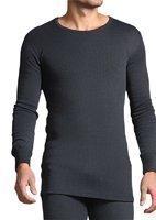 HEAT HOLDERS T-shirt thermique à manches longues pour homme Gris anthracite Taille XXL