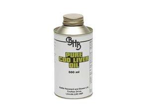 Batallas Aceite hígado de bacalao - Un estabilizado mezcla de hígado de bacalao aceite. Suplemento para caballos para el uso durante todo el Año (Elige 500ml, 4.5 litro o 22.5 litro) - 4.5 Litre