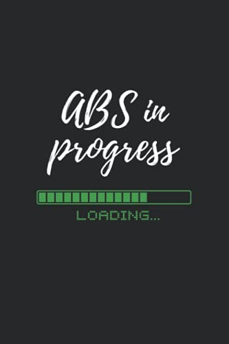 ABS in progress: 6*9 Workout Journal for tracking workouts and goals. ✅