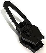ZlideOn Reißverschluss reparieren 5A-2 - Innovation aus Höhle der Löwen - Egal ob der Reissverschluss Schieber klemmt oder kaputt Reißverschluss Zipper repariert - Kunststoff & Metall in Schwarz