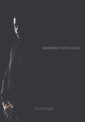 Damso batterie faible notebook: 17.78 x 25.4 cm 7 x 0.3 x 10 inches 120 pages
