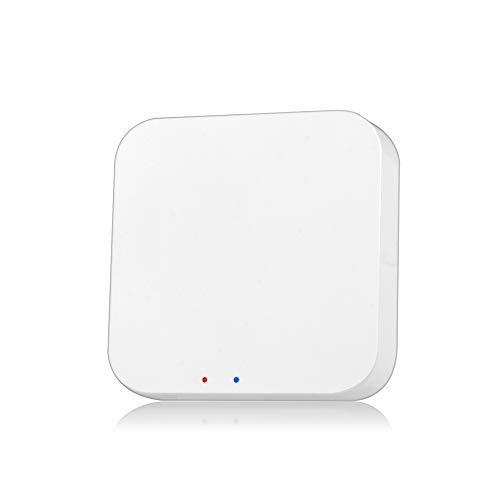 Tuya ZigBee Smart Gateway Hub Smart Home Bridge Tuya/Smart Life App Control Remoto inalámbrico para Todos los Productos Inteligentes Tuya ZigBee 3.0