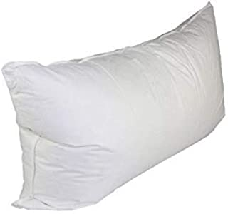 White Goose Down Pillow - 100% Cotton Cover Pillows 75% Feather & 25% Down 550 Fill Power