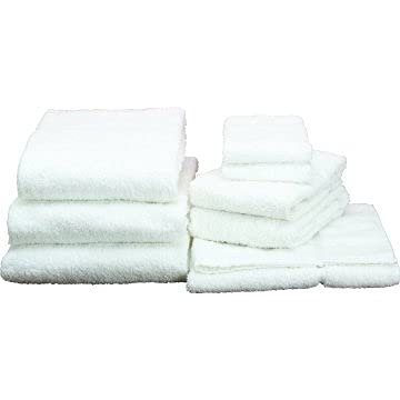 Basic Cotton Bath Towel Cam Kansas Max 47% OFF City Mall 20x40 5 Lbs 1 Package of White Dozen