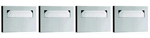 Bobrick Washroom Equipment B-221 Classic Toilet Seat Cover Dispenser Surf - 06-0221 (Pack of 4)