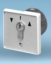 . Schlüsseltaster, eingebaut, hoch/runter