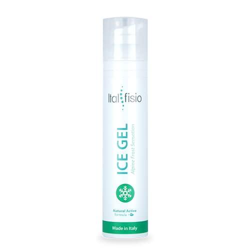 ICE GEL- Alpine Frost Sensation- Gel frío calmante fuerte para dolores musculares y articulares y esguinces. Drenante y anticelulítico.100ml