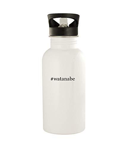 #watanabe - 20oz Stainless Steel Water Bottle, White