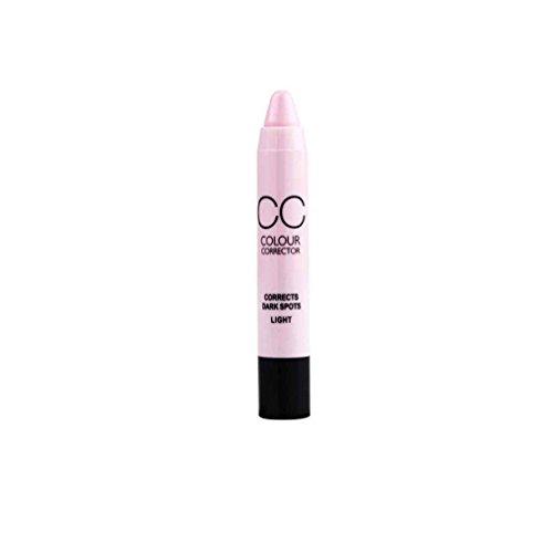 teng hong hui Maquillaje Corrector Muchachas de Las Mujeres CC lápiz Corrector en Crema Facial Corrector Pen rotación automática Hidratante Palo
