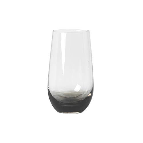 broste Copenhagen 14460638 Trinkglas Smoke klar/grau 0,55l (1 Stück)