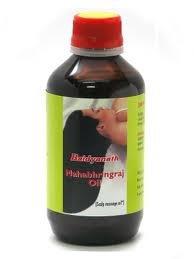 Baidyanath Mahabhringraj Oil Scalp Massage Oil 100ml Hair Loss Premature Greying Dandruff Sleeplessness Head Ache *Ship from UK