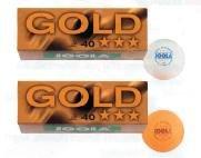 Joola Prime 3-Star - Pelotas de Tenis de Mesa (ABS, 72 Unidades), Color Blanco