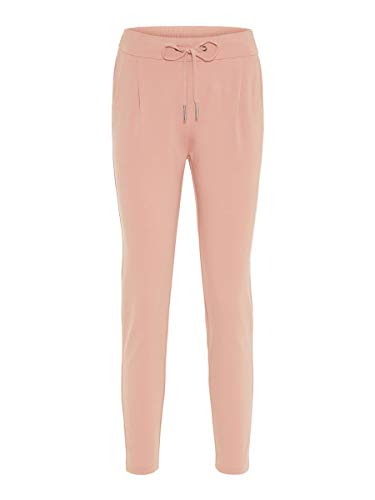 Vero Moda NOS Damen Hose VMEVA MR LOOSE STRING PANTS NOOS Rosa (Misty Rose), 38W / 32L (Herstellergröße: Medium)