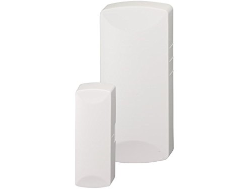 Interlogix TX-E201 Wireless Door/Window Sensor with both White & Brown replaceable shells
