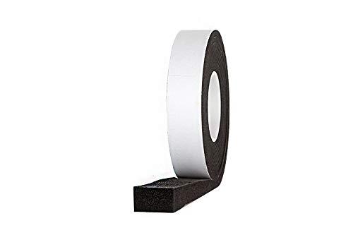 5,6 m Komprimierband Acryl 300 30/6, anthrazit Bandbreite 30 mm, expandiert von 6 auf 30 mm, Quellband/Fugendichtband/Kompriband/Fugenabdichtung/Fensterdichtband/Dichtungsband