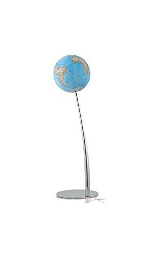 Atmosphere–Lámpara de pie con forma de globo terráqueo Iron Classic de 110cm