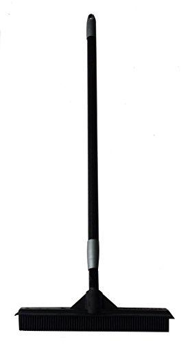 EXCOLO Gummibesen Frisuerbesen Haarbesen Noppenbesen aus 100{f37f5be93749757c94ad643e681c8f6182888ccc3ca84812d62ff6384751deab} Natur-Gummi Feger Schrubber Abzieher Stiellänge einstellbar 83 cm 150 cm Original SQUEEPER von SWEEPA