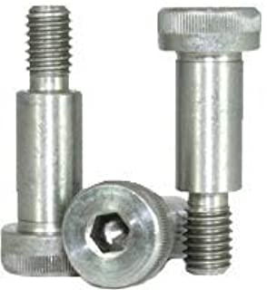 0.75 Length, 0.375 OD Round Standoff Female Pack of 10 Stainless Steel #8-32 Screw Size