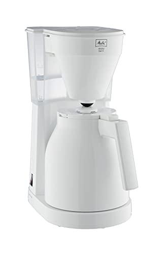 Melitta 1023-05 Easy Therm Filterkaffeemaschine, Kunststoff weiß