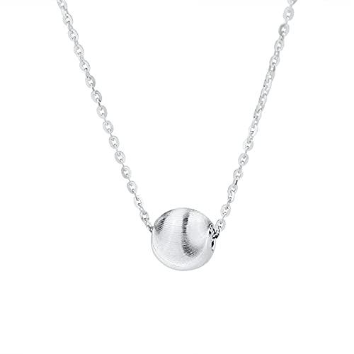 Collar Unisex Minimalista Collar De Acero Inoxidable El Colgante De Moda No Se Desvanece