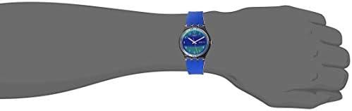 Swatch Transformation Quartz Silicone Strap, Purple, 16 Casual Watch (Model: GE718) WeeklyReviewer