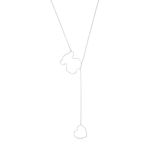 TOUS Collar cadena Mujer con colgantes...