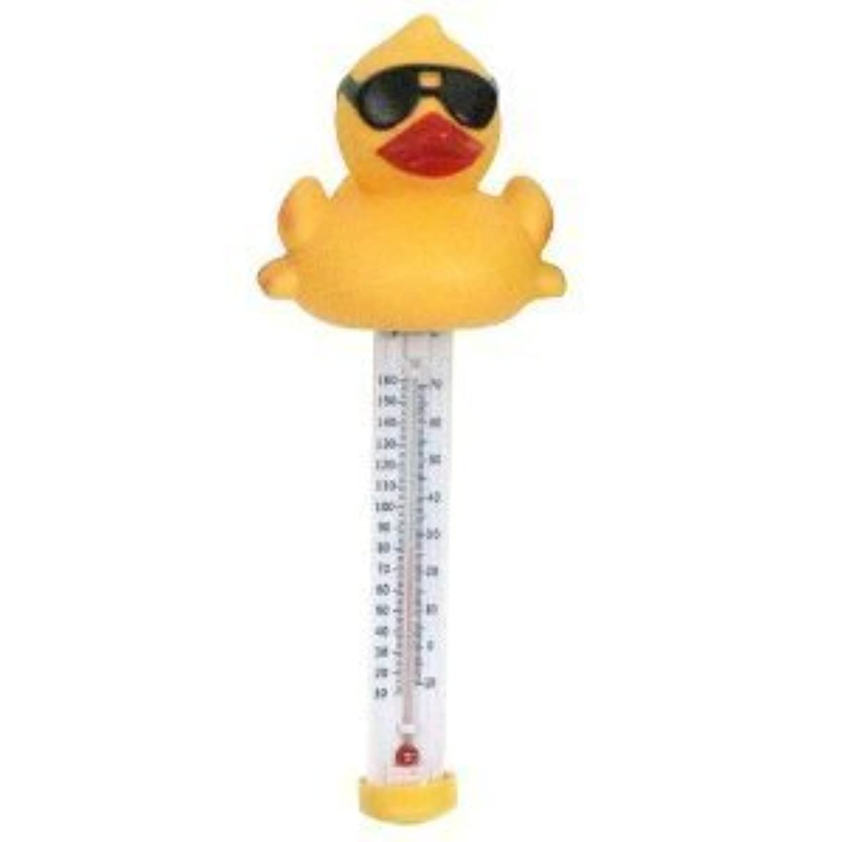Great American Merchandise Derby Duck Floating Pool Water Thermometer by GAME