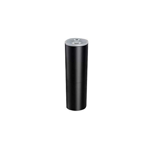sets Mini aspiradora portátil de aspiradora de automóviles para aspiradoras de Mano de Alto Rendimiento (Color : Negro)