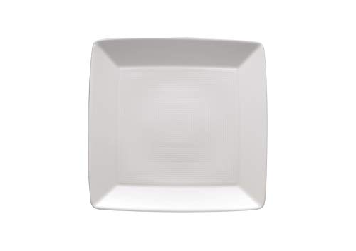 Thomas' Loft - Plat carré Plat 19cm, Blanc