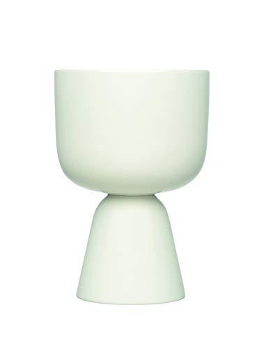 Iittala Nappula Blumen Übertopf, Keramik, Weiß, 230x155mm