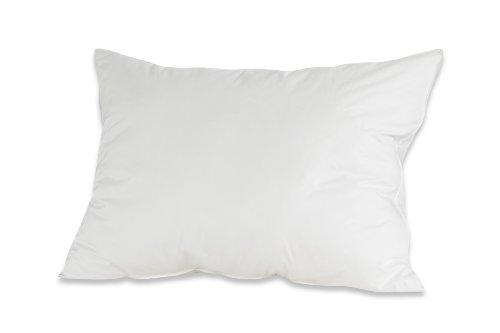 Badenia Bettcomfort Kopfkissen Trendline Comfort mit Baumwollbezug, 60 x 40 cm, weiß