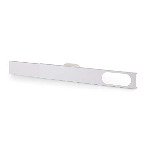 KLARSTEIN Window Kit de Ventana para Aire Acondicionado portátil - Ventana Deslizante, Corredera, Adaptable Entre 67-131 cm, PVC, Blanco