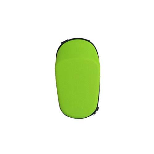 shentaotao Vespa Bolsa de Almacenamiento Delantero Vespa Colgante eléctrica del Filtro Impermeable de EVA de Shell Duro del Vespa Bolsa para Mini Pro Ninebot Mini Xiaomi Verde