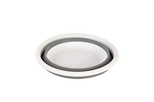Alberta Große 5L zusammenklappbare Silikon-Waschbeckens Nahrungsmittelbehälter-Wash Obst Basin Platz sparend Durable Wassereimer Reise Waschbecken Halter