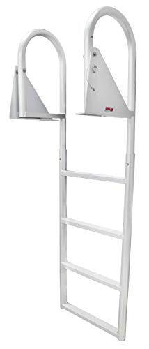 Extreme Max 3005.3473 Flip-Up Dock Ladder - 4-Step